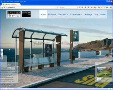 Site prezentare urbanmetal.ro - v2