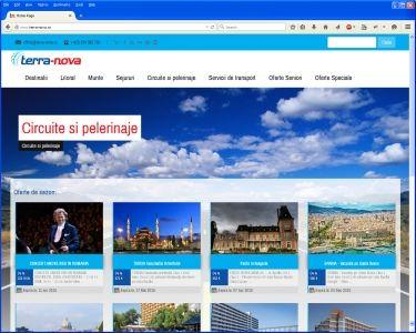 Site agentie turism terranova.ro