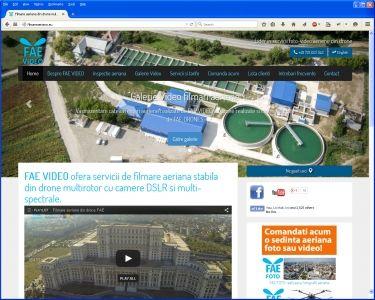Site prezentare fotografieaeriana.eu, ...
