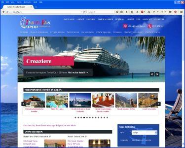 Site agentie turism TravelFan