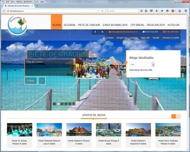 Creare site Agentie Turism Destination Tour