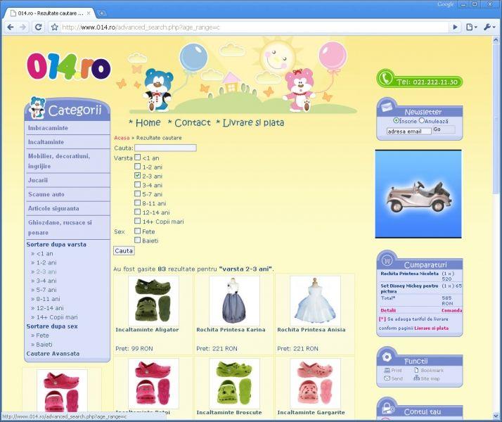 afc0cd8e9d7413 ... elementele de SEO principale atat pentru produse cat si pentru  categorii si subcategorii - totul intr-un design adecvat profilului  site-ului